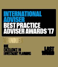 International adviser awards winner 2017